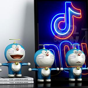 哆啦A梦3d模型