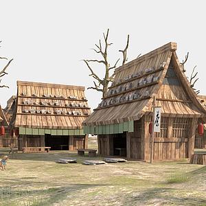 3d海賊王建筑模型