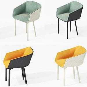 3d現代休閑椅子<font class='myIsRed'>家居</font>椅模型