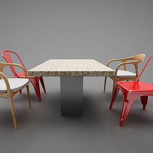 3d<font class='myIsRed'>餐桌</font>模型