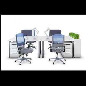 3d辦公工位辦公椅模型