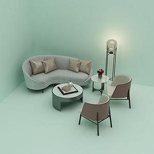 3d休闲沙发模型