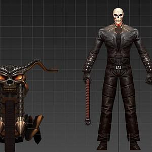 3d恶灵骑士模型