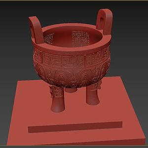 鼎青銅器模型