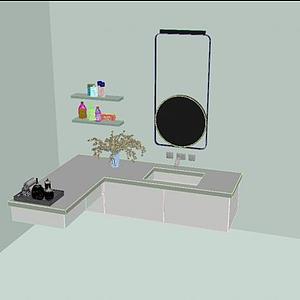 洗手臺模型