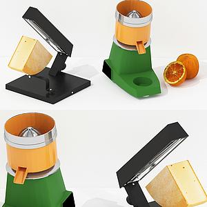 現代家用電器芝士模型