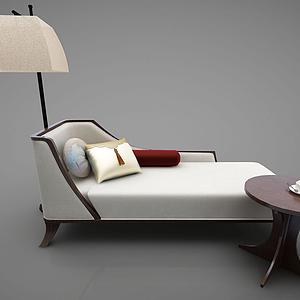 3d贵妃椅模型