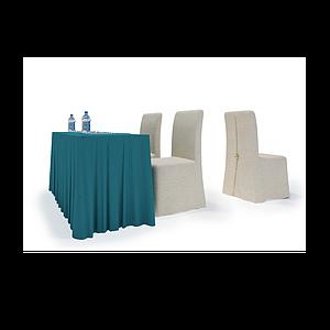 3d常规宴会会议桌模型