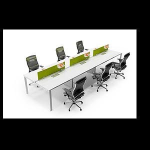 3d辦公工位模型