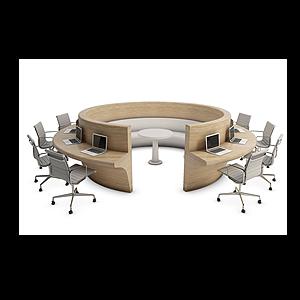 3d<font class='myIsRed'>辦公桌</font>工位辦公椅模型
