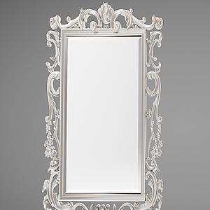 化妝鏡子模型