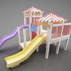 游樂設施滑梯模型