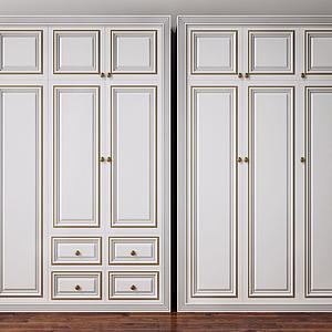 3d衣柜装饰柜模型