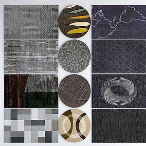 地毯毛毯模型
