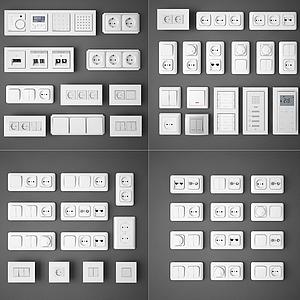 3d<font class='myIsRed'>插座</font>模型