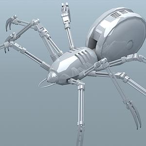 3d蘇雅萱蜘蛛模型