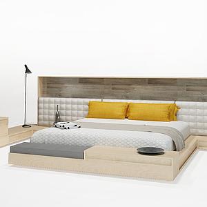 3d<font class='myIsRed'>家居</font>新式床模型