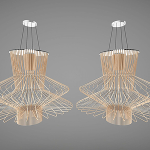 3d現代風格吊燈模型