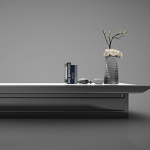 新中式風格家具模型