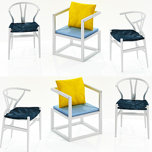 3d現代休閑單椅<font class='myIsRed'>家居</font>椅模型