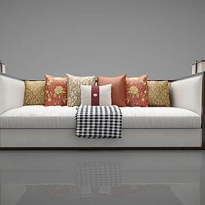 3d現代風格的沙發模型