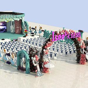 舞臺國際兒童藝術中心模型