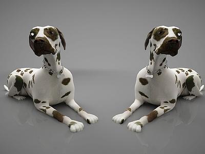 動物狗模型