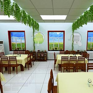 3d<font class='myIsRed'>餐厅</font>?#31243;?#39277;店模型