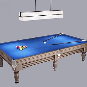 臺球桌模型