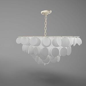 3d吊燈模型