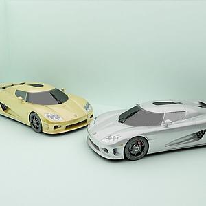 3d汽車<font class='myIsRed'>跑車</font>超跑模型