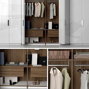 3d衣橱衣柜模型