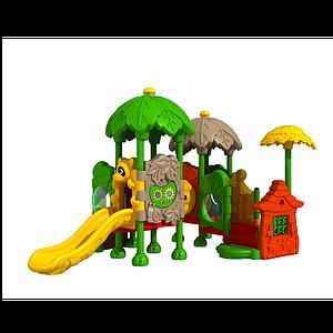 兒童城堡滑梯模型