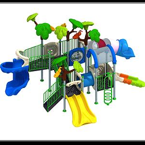 兒童游樂設備模型