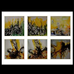 3d北欧油画装饰画模型