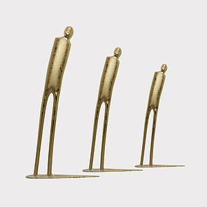 3d現代<font class='myIsRed'>雕塑</font>飾品模型