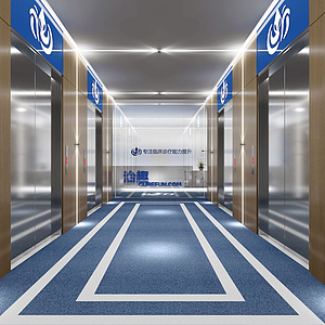 3d醫院<font class='myIsRed'>前臺</font>模型