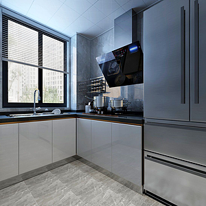 3d現代廚房<font class='myIsRed'>衛生間</font>模型