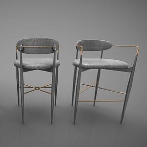 吧椅3d模型