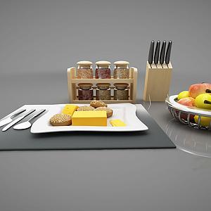 廚房擺件模型