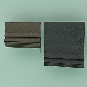 卷軸窗簾模型