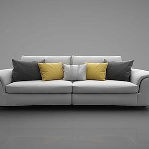 3d沙发组合模型
