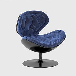 3d现代休闲椅靠椅办公椅模型