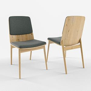 3d簡歐休閑風<font class='myIsRed'>家居</font>單椅模型