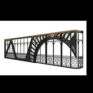 埃菲爾鐵塔屏風隔斷模型