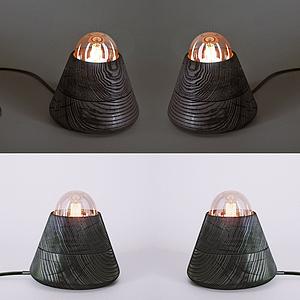 簡約臺燈模型
