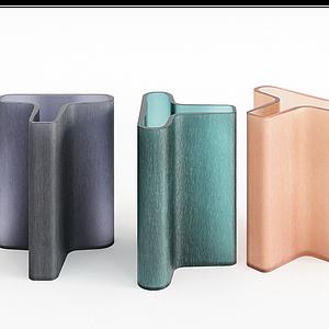 器皿花瓶異形花瓶模型