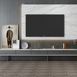 電視墻模型