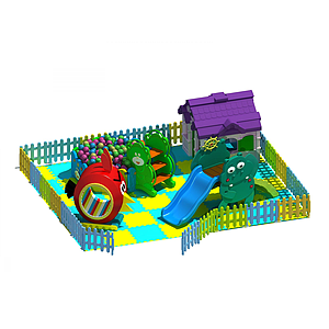 兒童滑梯模型