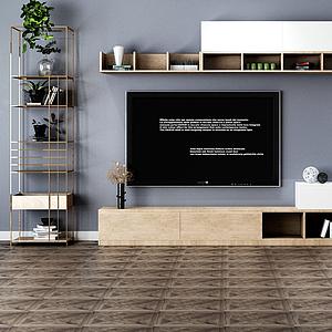 3d<font class='myIsRed'>電視柜</font>模型